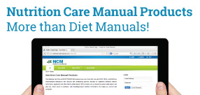 Nutrition Care Manual Products