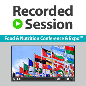 Presidents Lecture Solutions to Meet the United Nations Sustainable Nutrition Goals