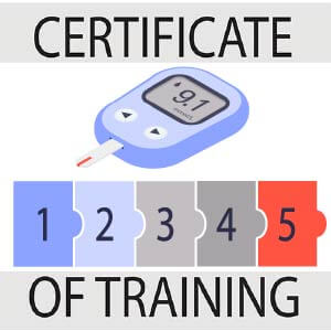 Certificate of Training Modules: Diabetes Mellitus