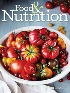 Food & Nutrition Magazine®: July/August 2017 Cover