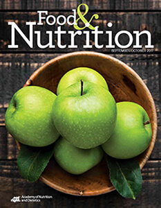Food & Nutrition Magazine®: September/October 2017 Cover