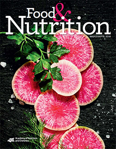 Cover for Food & Nutrition Magazine