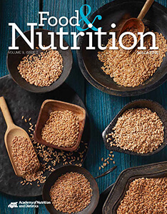 Food & Nutrition Magazine: Volume 9, Issue 2 Cover