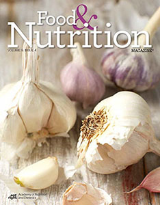 Food & Nutrition Magazine: Volume 9, Issue 4 Cover