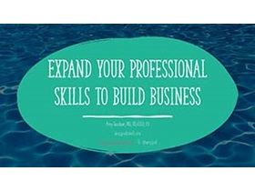Pivoting Your RD Career: Considerations, Steps, and Skills to Succeed - Expand Your Professional Skills to Build Business Webinar Title Slide