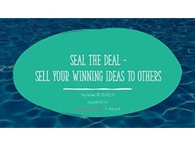 Pivoting Your RD Career: Considerations, Steps, and Skills to Succeed - Seal the Deal: Sell Your Winning Idea to Others Webinar Cover Slide