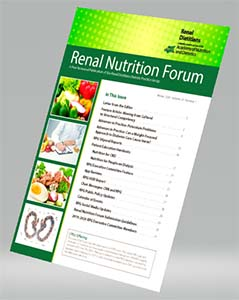 Renal Nutrition Forum