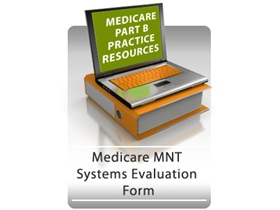Medicare MNT Systems Evaluation Form Graphic