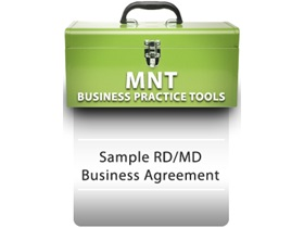 Sample RDN/MD Business Agreement