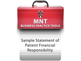 Sample Statement of Patient Financial Responsibility