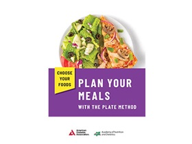 Choose Your Foods: Plan Your Meals with the Plate Method