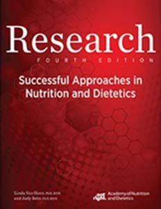 Research: Successful Approaches in Nutrition and Dietetics, 4th Ed.