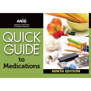 AADE Quick Guide to Medications, 9th Edition - Book Cover