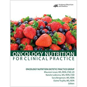 Oncology Nutrition for Clinical Practice Cover