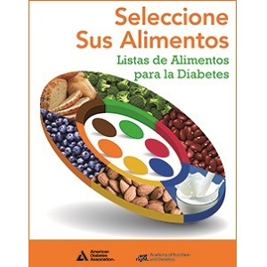 Choose Your Foods: Food Lists for Diabetes (Spanish) Cover