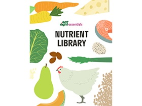 Eatright Essentials: Nutrient Library Cover