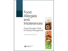 Food Allergies and Intolerance Cover
