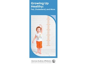 The cover of Growing Up Healthy: Fat, Cholesterol, and More