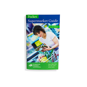 Cover of Pocket Supermarket Guide Brochure