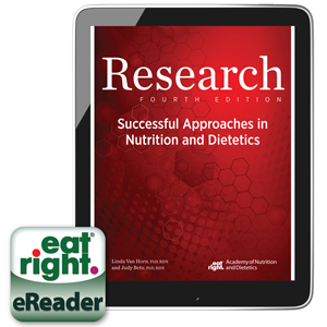 Research: Successful Approaches in Nutrition and Dietetics, Fourth Edition -- eBook Cover