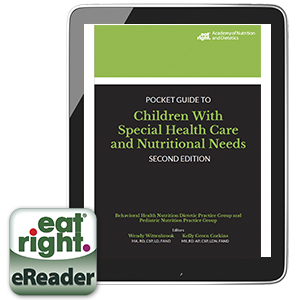Academy of Nutrition and Dietetics Pocket Guide to Children with Special Health Care and Nutritional Needs Cover