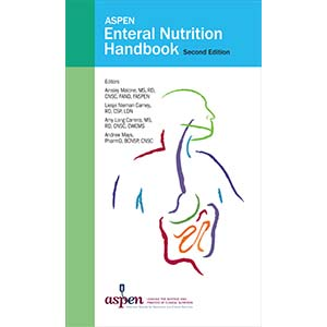 The cover of ASPEN Enteral Nutrition Handbook, Second Edition.