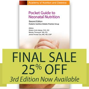 The Cover for the Pocket Guide to Neonatal Nutrition, 2nd Ed.