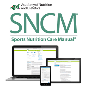 Sports Nutrition Care Manual Screenshot