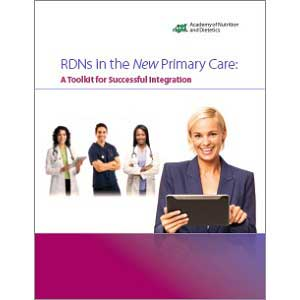 Cover for RDNs in the New Primary Care