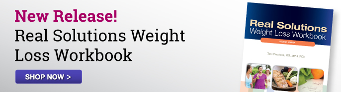 Image of the workbook Real Solutions Weight Loss Workbook